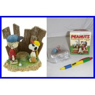 Figura PEANUTS Snoopy e Charlie Brown Baseball TRADING FIGURE Square Enix JAPAN