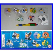 SET 7 Figure CALAMITE Magnets LOONEY TUNES Sylvester Wile Roadrunner Tweety etc.