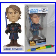 STAR WARS Figura ANAKIN SKYWALKER 17cm Bobble Head FUNKO Originale NUOVA Jedi !