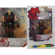 GEARS OF WAR Figura Action MARCUS FENIX Bloody Battle Damaged 10cm BLOOD Serie 1 NECA