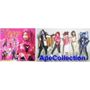 SET 5 Figure CUTIE HONEY SEXY GIRLS Manga Anime JAPAN Gashapon BANDAI