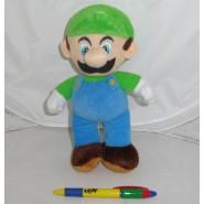 Peluche Plush Soft Toy LUIGI 20cm from SUPER MARIO Bros Land Kart Wii NEW