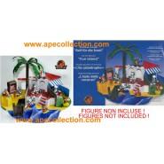 Kinder RARO DIORAMA Tedesco Set TOM & JERRY 2003 Isola Vacanze DA COSTRUIRE