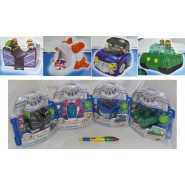 Set 4 Figures SQUINKIES BOY's Playset ORIGINALI Bandai