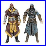 BOX 2 Figure Action 18cm EZIO AUDITORE ASSASSIN'S CREED Neca BOXED