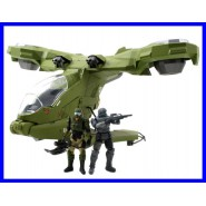 HALO 4 Modellino UNSC HORNET Metallo con 2 FIGURE ACTION Originale