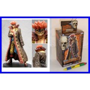 ONE PIECE Rara Figura 18cm CAPTAIN KID Originale GRANDLINE SERIE 7 BANPRESTO JP