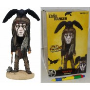 Figura Resina TONTO 18cm HEAD KNOCKER Originale NECA USA Johnny Depp