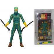 KICK-ASS 2 Figura Action KICK-ASS Dave Lizewski 17cm Originale NECA USA Kickass