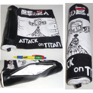 ATTACK ON TITAN Rare Wonderful PENCIL CASE PEN 26cm Replica Japanese Papyrus MANGA Cosplay JAPAN