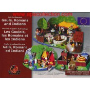 Kinder german DIORAMA Bastelbogen for Set ASTERIX and ROMANS