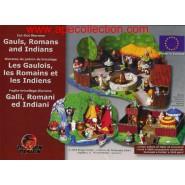 Kinder german DIORAMA Bastelbogen for Set ASTERIX and ROMANS