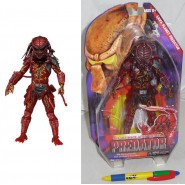 PREDATOR Figura Action LAVA PLANET 20cm Originale Ufficiale NECA USA Serie 10