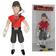 TEAM FORTRESS 2 Plush THE SCOUT Big 35m Original NECA USA