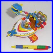 RARO Playset ALISCAFO PAPERONE 2010 DISNEY Gadget Topolino UNCLE SCROOGE Rare !!