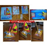 Playset CATAMARANO PAPERINO Donald Duck GADGET TOPOLINO Disney Gadget Rare