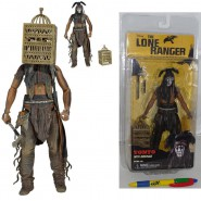 THE LONE RANGER Action Figure TONTO CAGE 18cm Johnny Depp NECA Serie 2