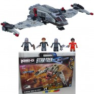 STAR TREK Kit KLINGON BIRD OF PREY Set KRE-O Costruzioni HASBRO Into Darkness