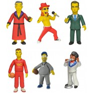 Action Figure THE SIMPSONS 13cm NECA Nuova GREATEST GUEST STARS Serie 1 SIMPSON