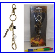 THE ONE RING Bag Clip KEYRING Original NECA