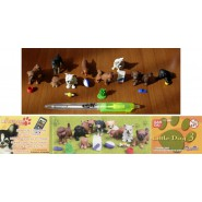 SET 8 Mini Figures LITTLE DOGS SPECIES PART 3 Gashapon FIGURES Bandai