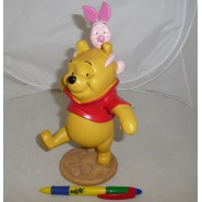 Figure STATUE Resin WINNIE and Piglet PIGGY  25cm DISNEY Boxed