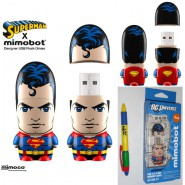 PEN DRIVE Flash USB 4GB SUPERMAN Supereroe DC Comics 4 GB Originale MIMOBOT
