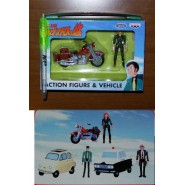 LUPIN 3 III Rare Playset FUJIKO with MOTORCYCLE Original BANPRESTO Japan Margot