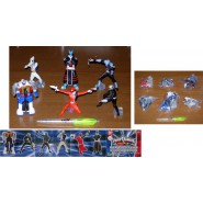 SET 6 Figure 10cm POWER RANGERS SPD SHADOW Super Sentai BANDAI Gashapon