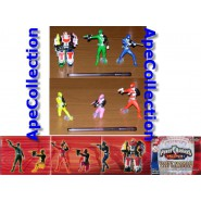 SET 6 Figure 10cm POWER RANGERS SPD URGENT COMMANDO Gashapon BANDAI
