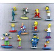 RARO Set 12 Figure THE SIMPSONS Originali PANINI ITALY Figures HOMER ETC Nuove