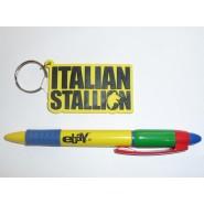 Portachiavi ROCKY Balboa ITALIAN STALLION Sylvester Stallone KEYRING Original