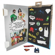 DC Stupendo SET 20 CALAMITE Magneti Frigo JUSTICE LEAGUE Fridge Magnets