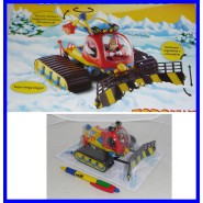 Gadget Topolino GATTO DELLE NEVI DI PIPPO 2012 Goofy PLAYSET Rare Limited ITALY