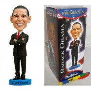 ROYAL BOBBLES Figura Statuetta BARACK OBAMA Presidente USA 20cm BOBBLE HEAD Originale