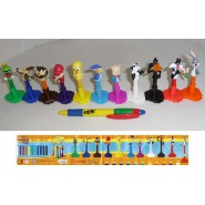 COOL THINGS Set 11 Figure LOONEY TUNES PENCIL TOPPERS Matite NUOVI Warner Bros