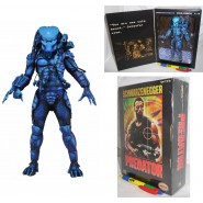 PREDATOR Figura Action JUNGLE HUNTER 20cm VIDEOGAME 1989 Version NECA USA Nuova
