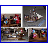 BIG Galleon Pirate SHIP Gadget PLAYSET Disney MICKY MOUSE Magazine ITALY Rare