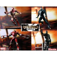 Marvel IRON MAN 3 Figure 8cm DRAGON MODELS Battlefield Collection
