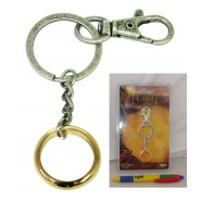 THE HOBBIT Lord Of The Rings KEYRING The ONE RING Blister SD TOYS Official LOTR