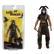 FIGURA Action 18cm TONTO da THE LONE RANGER Johnny Depp NECA SERIE 1