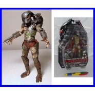 RARA Figura 20cm CLASSIC PREDATOR BATTLE DAMAGED Neca USA PREDATORS Serie 2