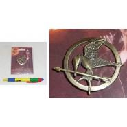 The Hunger Games SPILLA di KATNISS Metallo GHIANDAIA IMITATRICE con confezione
