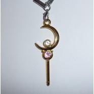 Sailor Moon CIONDOLO Laccetto Portachiavi con CHIAVE DEL TEMPO In BLISTER Giappone