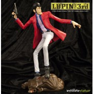 Statua Resina LUPIN III The 3rd Limited Edition 23cm INFINITE Statue LIMITED New