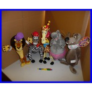 Top Price SET 5 Different Plushies MADAGASCAR Big ORIGINAL0 Alex Gloria Marty Melman