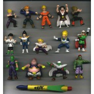 RARO Set 14 Figure DRAGONBALL Z Originali PANINI