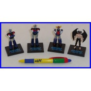 SET 4 Mini Figure GO NAGAI Robot GOLDRAKE Mazinga Z Great MAZINGER DEVILMAN