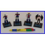 SET 4 Mini Figure GO NAGAI Robot GOLDRAKE Mazinga Z Great MAZINGER DEVILMAN