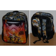 STAR WARS Stupendo Zaino 28x23 Originale BACKPACK Zainetto UFFICIALE NUOVO New